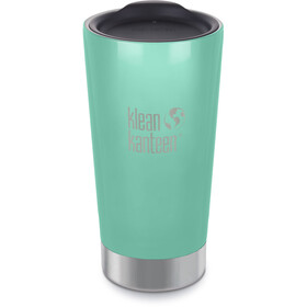 Klean Kanteen Tumbler Vacuum Insulated Drinkfles 473ml turquoise